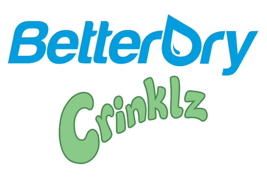 BetterDry and Crinklz Logo